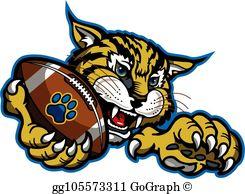 Bobcat Clip Art.