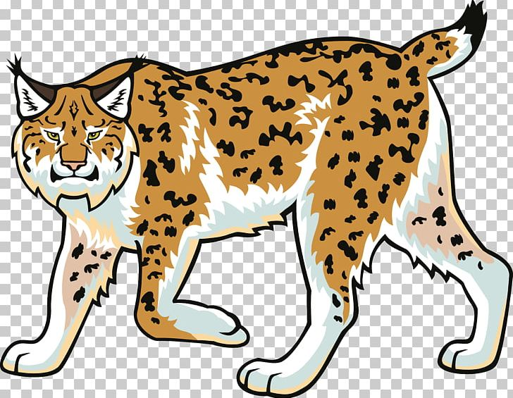 Eurasian Lynx Bobcat Wildcat Felidae PNG, Clipart, Animals.