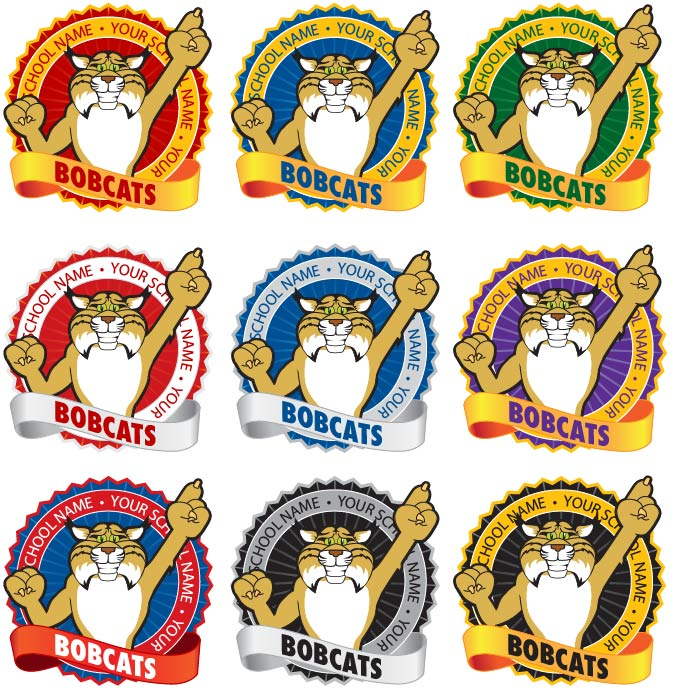 Bobcat Mascot.