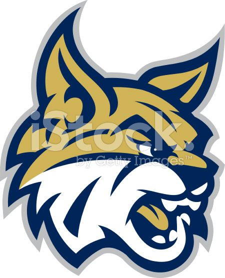 This Bobcat mascot head is great for any mascot, school or.