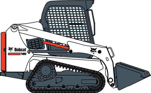 Bobcat clipart skidsteer, Bobcat skidsteer Transparent FREE for.