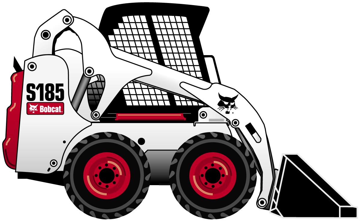 Bobcat clipart equipment bobcat, Bobcat equipment bobcat Transparent.