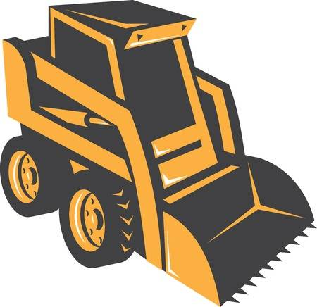 521 Skid Steer Stock Illustrations, Cliparts And Royalty Free Skid.