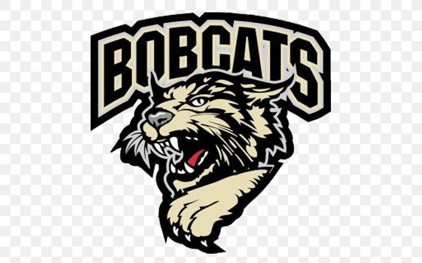 Tiger Bismarck Bobcats Logo Ice Hockey Roar, PNG, 512x512px.
