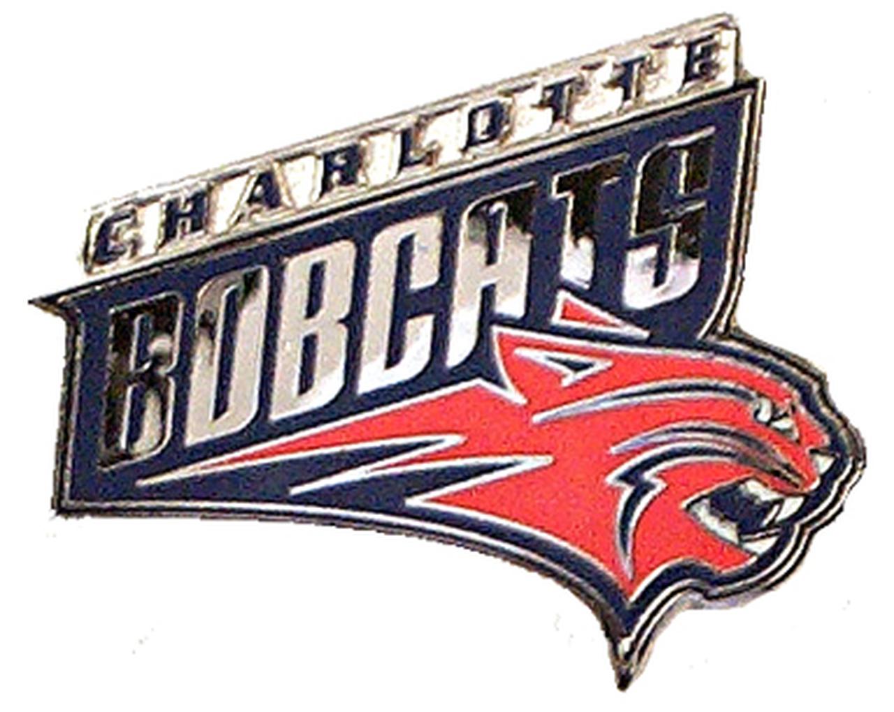 Charlotte Bobcats Logo Pin.