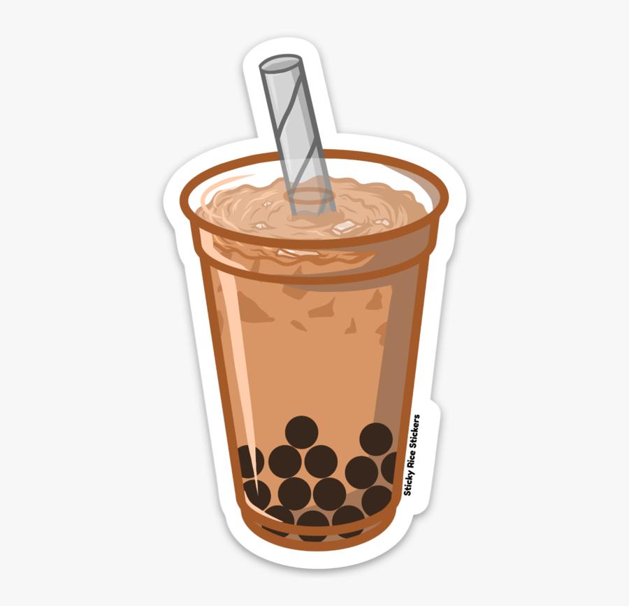 Transparent Bubble Tea Clipart.