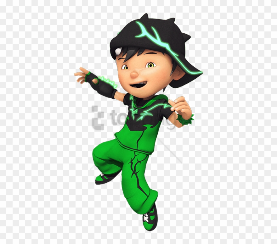 Free Png Download Boboiboy Character Thorn Clipart.