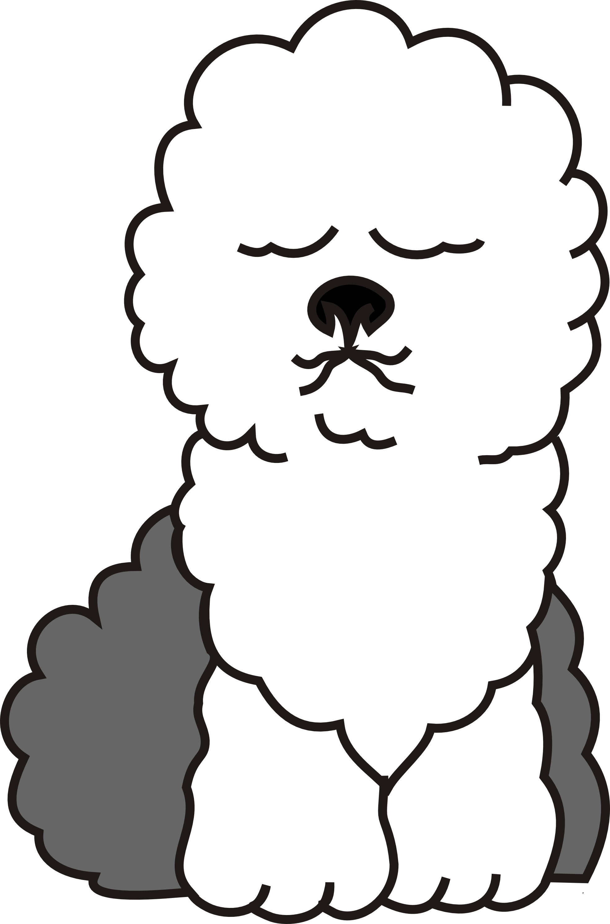clipartist.net » Clip Art » Buggi Dog Bobtail Scalable Vector.