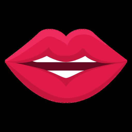 Hablando icono de boca femenina.