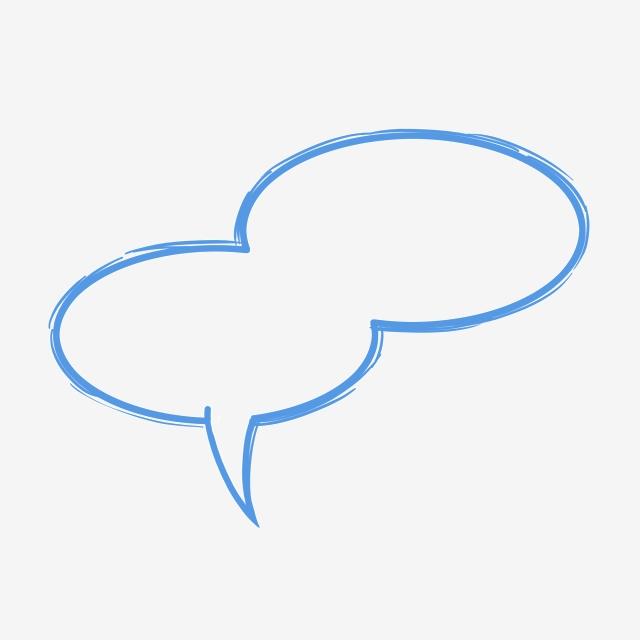 Bocadillo De Diálogo Doble Oval Estilo De Nube Cuadro De Diálogo De.