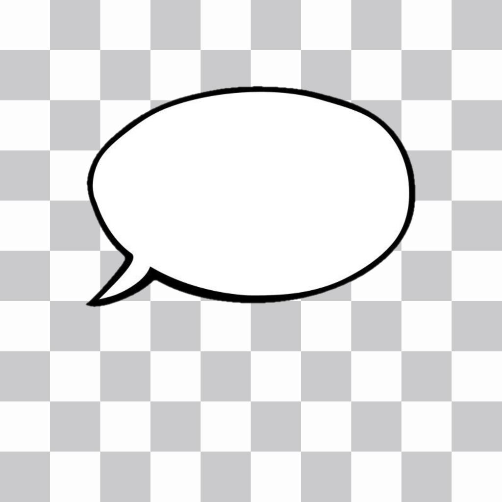 Generador de globos de texto(bocadillos estilo cómic) para añadir a.