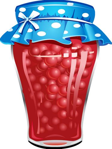Bocal de fruits : tube.