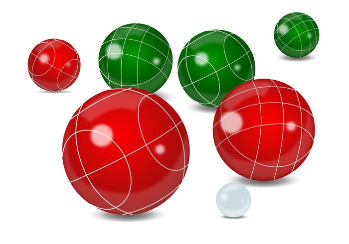 Realistic Bocce Ball.