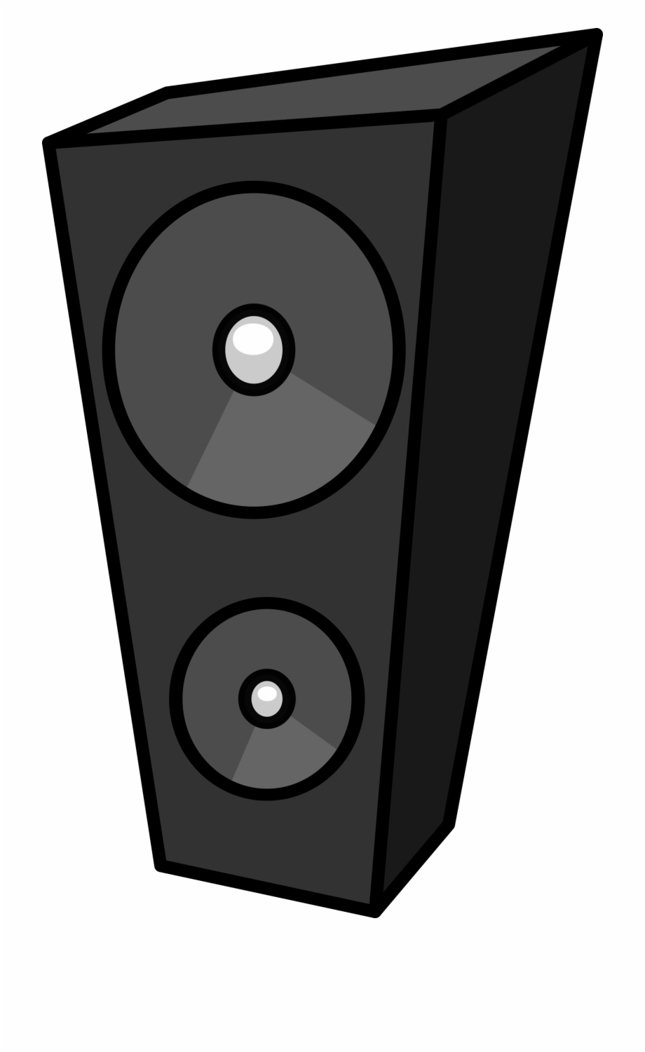 Free Speakers Clipart Black And White, Download Free Clip.