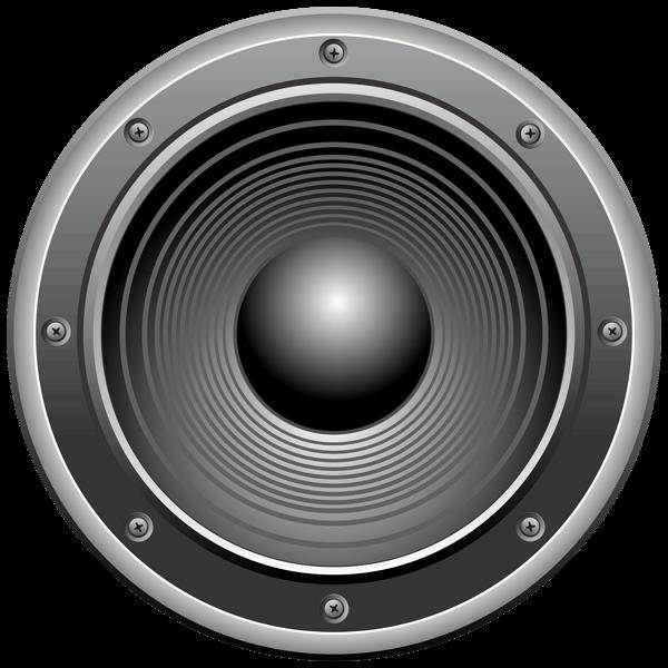 Loudspeaker transparent PNG.