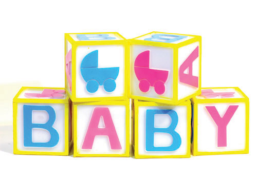 Baby letter clipart.