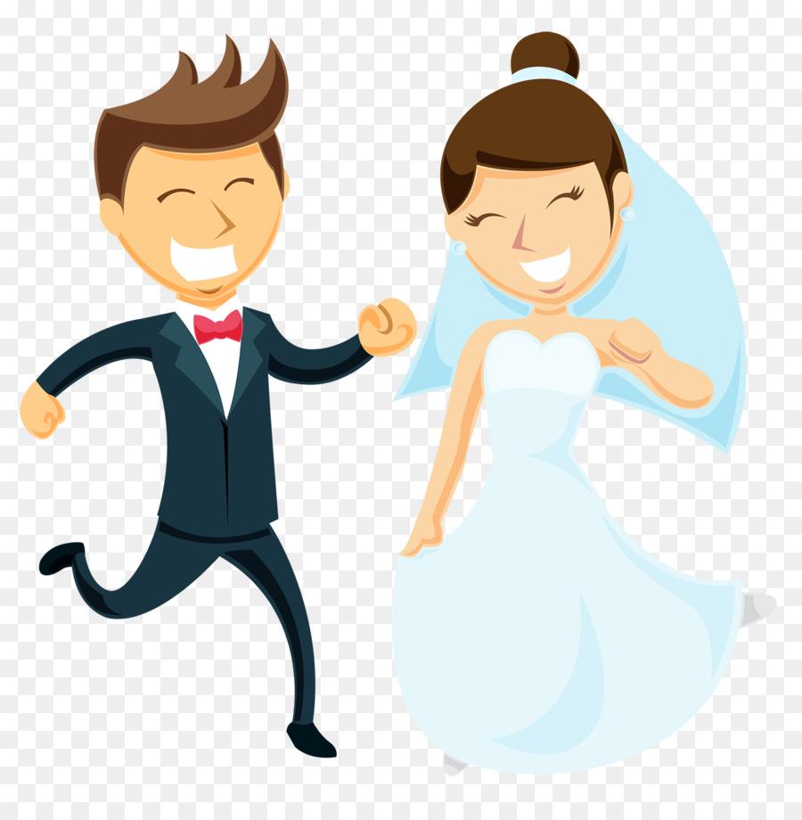 La Boda, El Matrimonio, Dibujo imagen png.