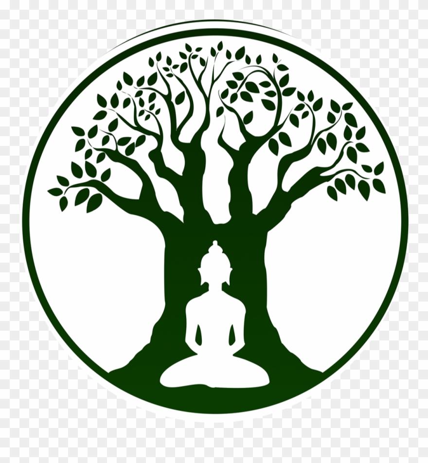 Bodhi Tree Logo Ftestickersfreetoedit Graphic Black.