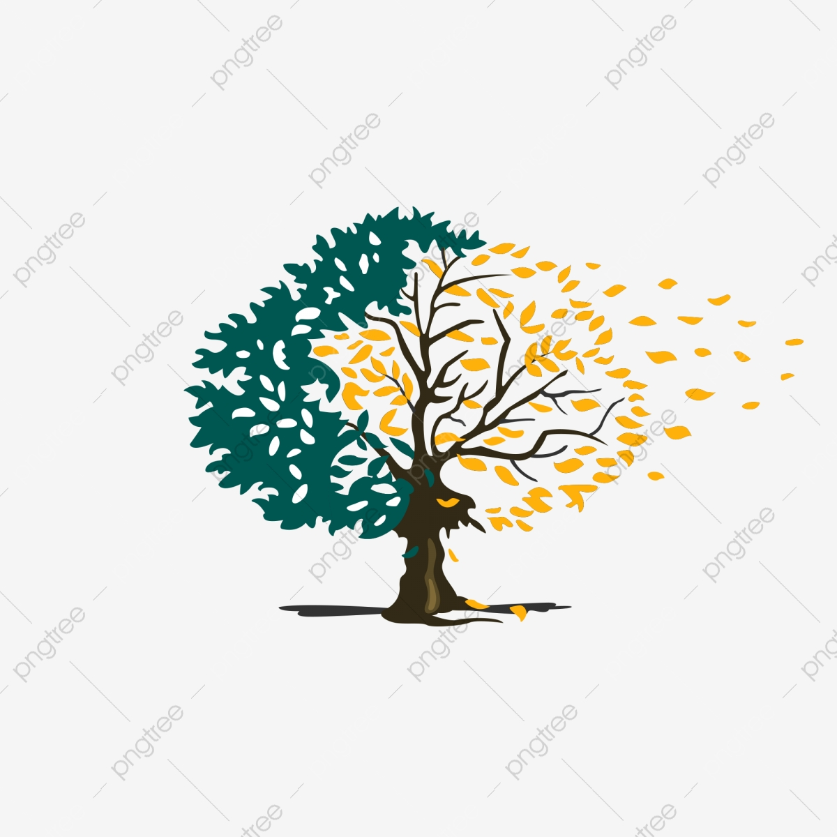 A Bodhi Tree Image Material, Tree Clipart, A Tree, Bodhi Tree PNG.