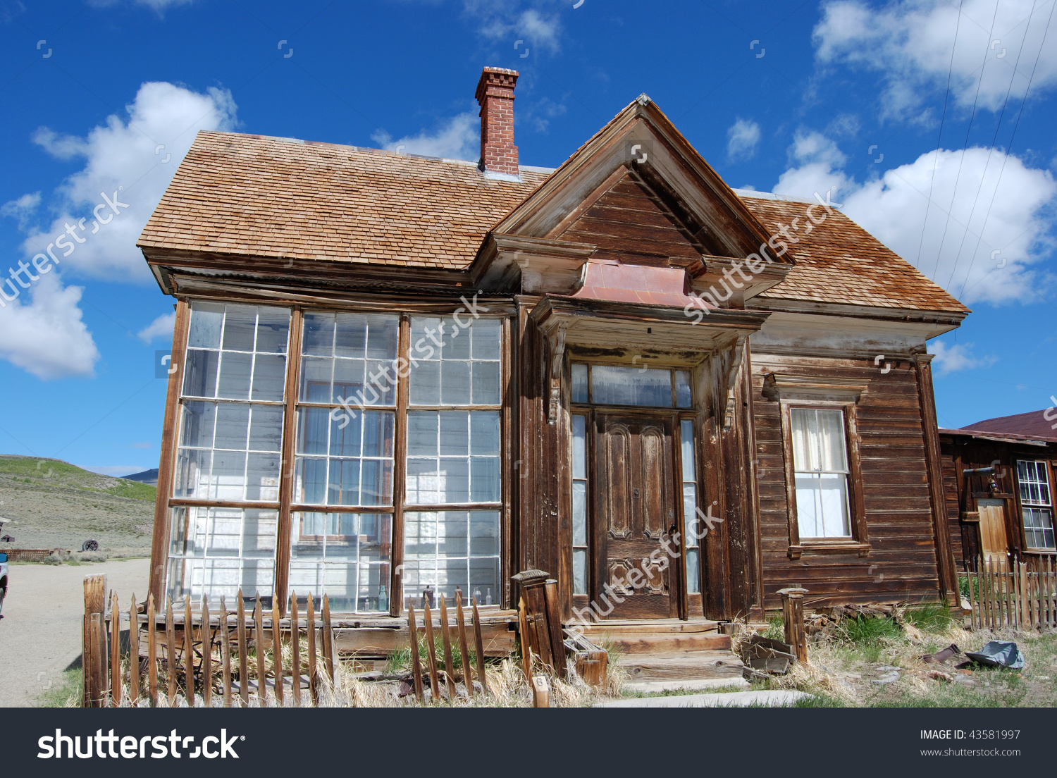 Bodie California Ghost Town Store Stock Photo 43581997.