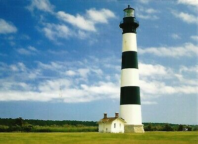 LIGHTHOUSES OF NORTH Carolina, Cape Hatteras, Bodie Island.