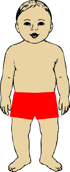 Body Parts Clipart.