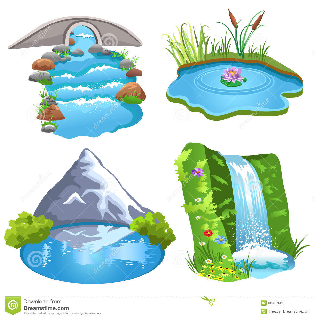 Bodies of water clipart 4 » Clipart Station.