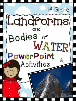 Landforms Activities and PowerPoint.