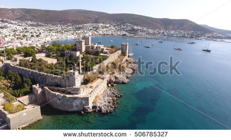 Bodrum Sightseeing Stock Photos, Royalty.