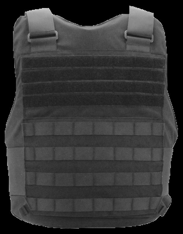 FIRST CLASS ARX TACTICAL BODY ARMOR THREAT LEVEL IIIA (BLACK).