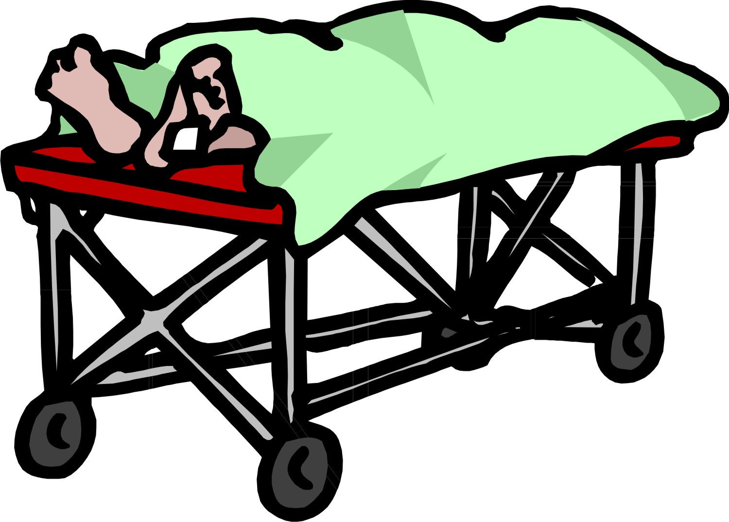 Body Bag Clipart.