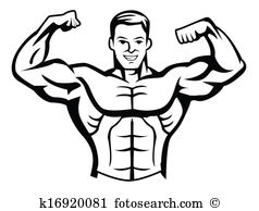 Body builder Clip Art Royalty Free. 5,162 body builder clipart.