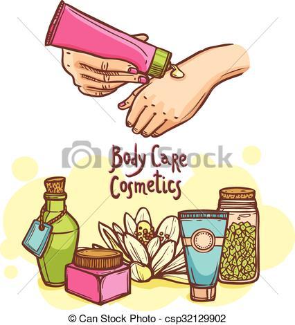 Clipart body care.