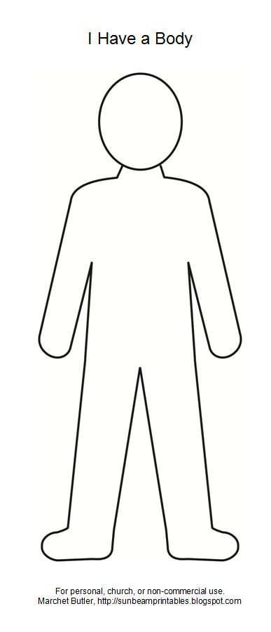 body outline clipart.