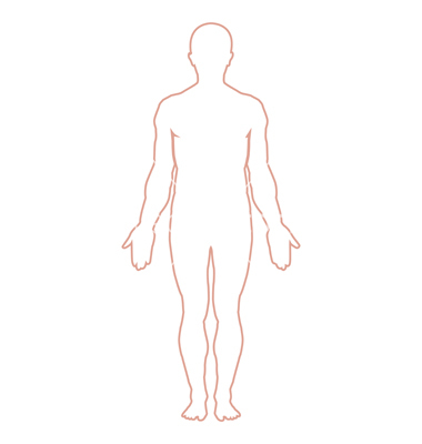 Body Outline Clipart Free.