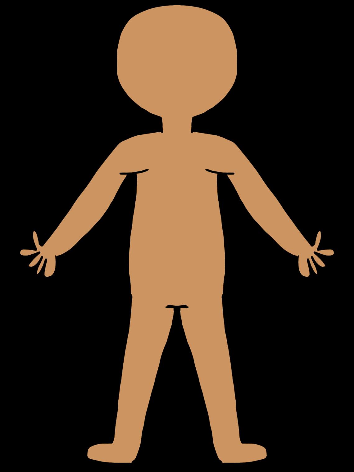 Body Outline Clip Art.