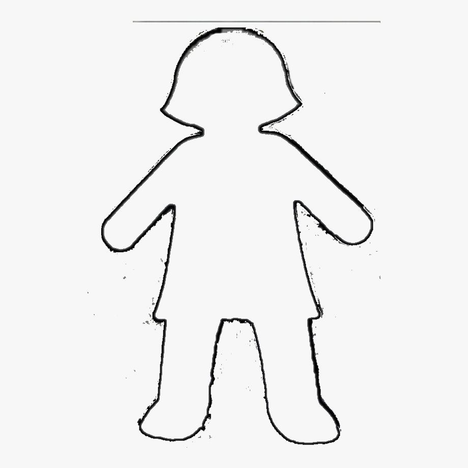 Clipart Boy Outline.