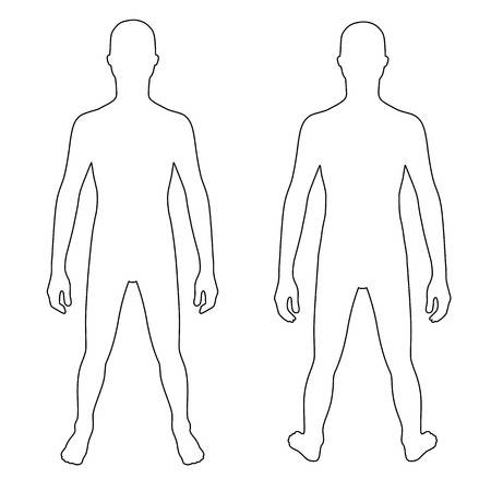 Body Outline Clipart Free Download Clip Art.
