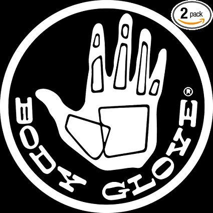 Amazon.com: NBFU DECALS Logo Body Glove (White) (Set of 2.