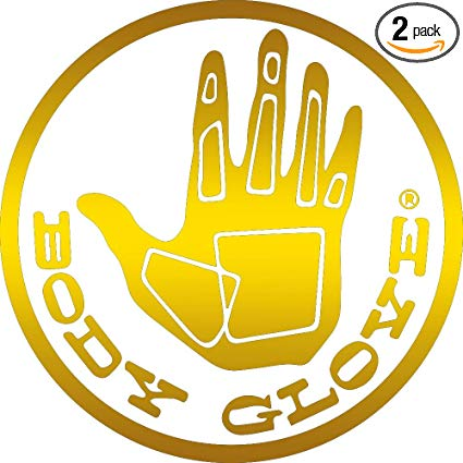 Amazon.com: NBFU DECALS Logo Body Glove (Metallic Gold) (Set.