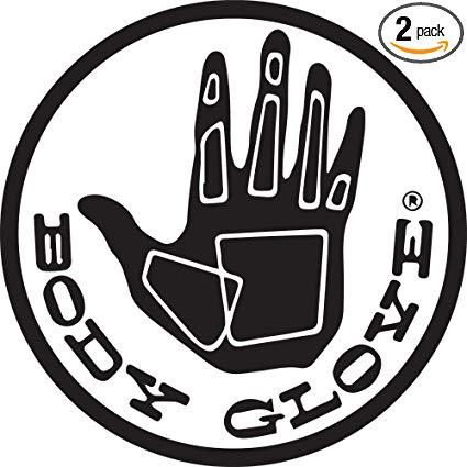 Amazon.com: NBFU DECALS Logo Body Glove (Black) (Set of 2.