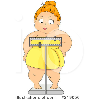 Body Weight Clipart #4768.