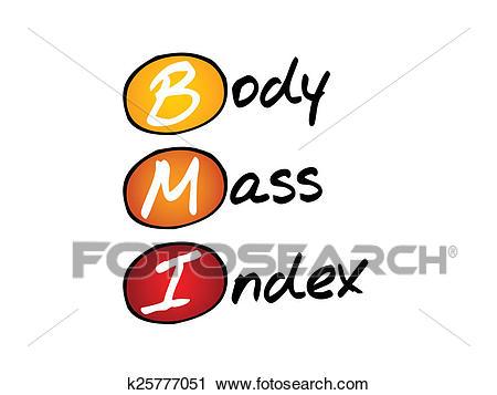 Body Mass Index Clip Art.