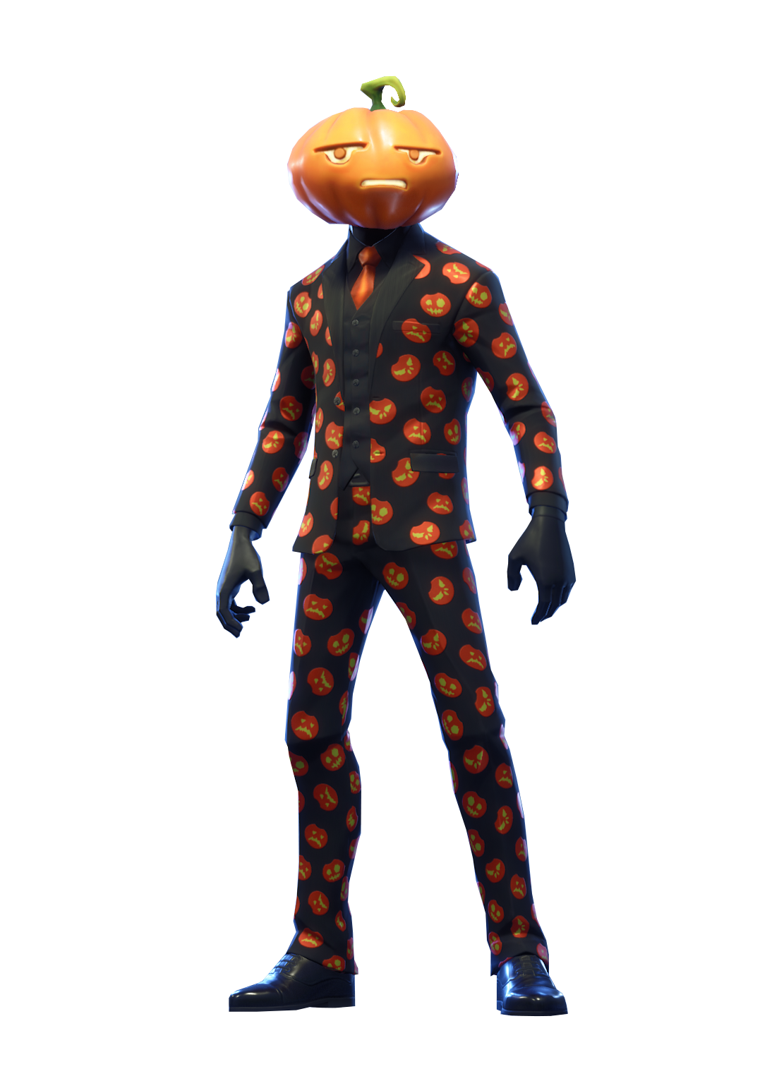 Jack Gourdon Fortnite Skin Full Body PNG Image.
