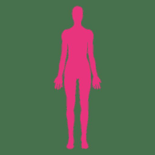 Female body medical pose.