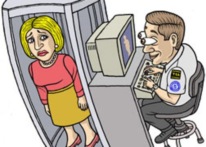 The expanding invasion of the naked body scanners..