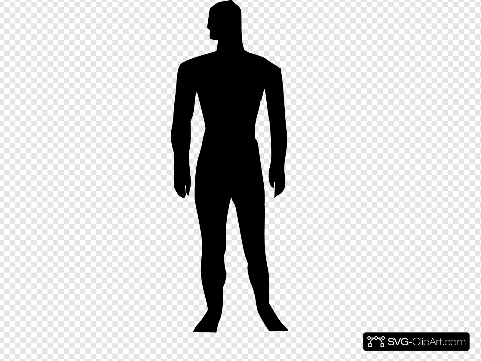Human Body Silhouette Medical Illustration Clip art, Icon.