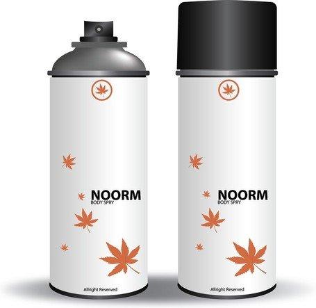 Free Vector Noor Body Spray, Vector Images.