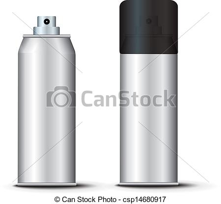 Vector Clip Art of Spray Template vector csp14680917.