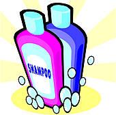 Clip Art Of Body Wash Bottles Clipart.